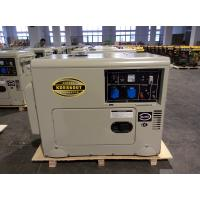 Best 6 KW Soundproof Silent Diesel Generator , Single Cylinder Diesel Generator Set wholesale