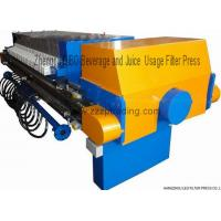 Best Filter press Zhengpu DIBO Beverage And Juice Using Filter Press wholesale
