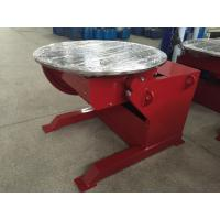 Best Red Painting Welding Positioner Positioner Motorized Pipe Turning , 360° Rotating wholesale