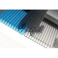 Best Various Colors Corrugated Polycarbonate Greenhouse Panels Flame Resistance wholesale