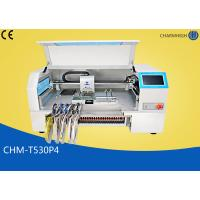 Best 4 Heads Charmhigh Desktop Pick And Place Machine 30pcs Yamaha Pneumatic Feeders wholesale