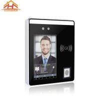 Best Touch Screen Visible Light Face Access Control System With Fingerprint Reader wholesale