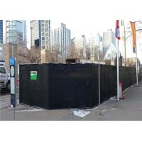 Best Rhombus Design Temporary High Way Noise Barriers Portable Noise Insulation Blanket 40dB For Outside wholesale