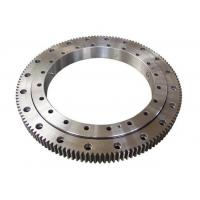 Best Single Row Four Point Contact Ball Slewing Ring Bearings External Gear For Axial Load wholesale