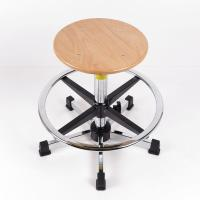 Best Plywood Adjustable Industrial Production Chairs 330mm Diameter SGS Certificate wholesale