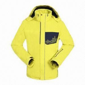 China Ski Jacket with Snow-gaiter on sale