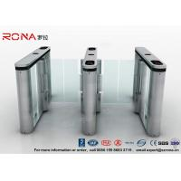 Best Anti - Collision Walk Through Metal Swing Gate For Bus Station Card Reader System wholesale