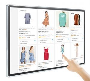 Best FCC Wall Mounted Digital Signage SSN-10 Digital Menu Boards 55'' wholesale