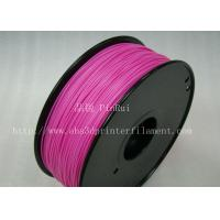 Cheap Stable Performance Purple HIPS 3D Printer Filament Materials 1kg / Spool for sale