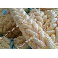 China Professional Braided Polypropylene Rope Marine Supply White Color 12 Strands Filament Composite on sale
