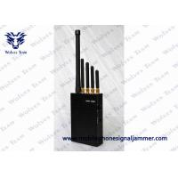 Best 3W Handheld Cell Phone Jammer AC Adapter For Phone Signal LOJACK GPS wholesale