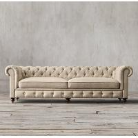 Best cheap chesterfield sofa replica set velvet yellow leather cushions pu living room 3 2 1 wholesale