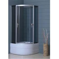 Best Hotel Luxury Bathroom Shower Cubicles , Custom Glass Shower Enclosures wholesale