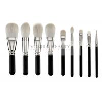 Best Exclusive Luxury Softest Makeup Brushes  Private Label Silver Copper Ferrule wholesale