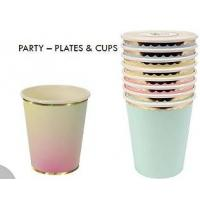 China 9OZ Party Cups Unique Promotional Gifts With Different Shape / 4C Color Printing on sale