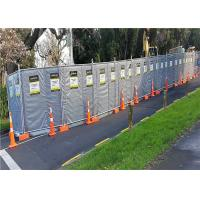 Best Mobile Noise Barriers 30dB Construction Insulated and Absorption 4'x12' blanket size wholesale