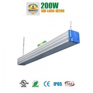 Best High Voltage 347v 480v Linear High Bay LED Lighting 200w Industrial Linear Lighting wholesale