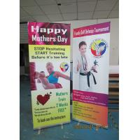 Cheap Light Weight Table Top Banners Display Interior Print Automatically for sale