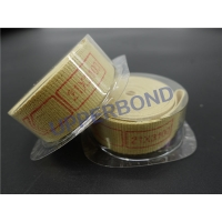 Best 18.5 * 3100 Mm Yellow Garniture Tapes For Cigarettes Filter Rod Making Machine wholesale
