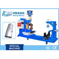 Best Argon Arc Straight Seam Welding Machine Hwashi Blue Color 0.5m/ Sec Automatic wholesale