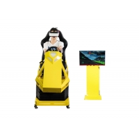 Best Manual Operation VR Race car simulator Different Maps High Resolution VR Headset wholesale
