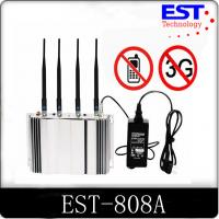 Best 3G Cell Phone Signal Jammer Blocker EST - 808A 2100 - 2200MHZ Frequency wholesale