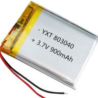 Best Custom made PL803040 900mAh 3.7 V Lithium Ion Polymer Battery for sale wholesale