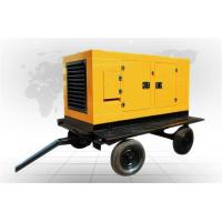 Hermetic 460 KW Trailer Mounted Diesel Generator 5015 X 2410 X 3560 Rain Proof
