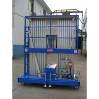 Quality 200Kg Towing aerial working platform with Dual Mast , Explosion Proof Type wholesale