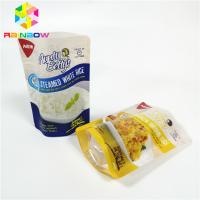Best High Temp Vacuum Storage Bag Transparent Retort Pouch For Sauce Steamed Rice Packaging wholesale