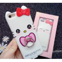 Best Iphone 7 Apple Phone Power Bank Case  Hello Kitty With Ring Holder 4000 Mah wholesale