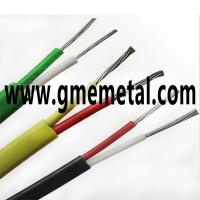 Quality Fiberglass Braided Heat Resistant Electrical Wire , Silicone Rubber Insulated Cable wholesale
