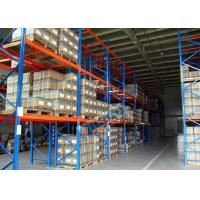 Quality Logistics Pallet Rack Shelving , 2500 Kg Max Load Q345 Steel Shelving Racks wholesale