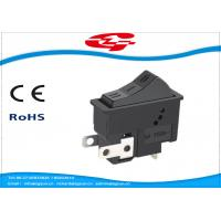 Best 3 Pin On On Off 3 Position Rocker Switch For Hair Dryer , Long Mechanical Life wholesale
