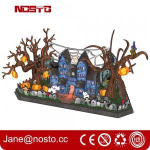 Best 3d Halloween Wall Decor, 3D Paper Wall Art, Halloween Decor 3D puzzle Castle wholesale