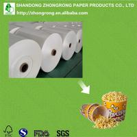 China pe coated paper board for popcorn tub on sale