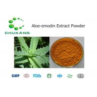 Best Nature Botanical Powder / Aloe Emodin Extract Cas 481 72 1 Promote Blood Circulation wholesale