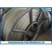 China 6 Squares 18 Strands Anti Twisting Steel Wire Rope For Transmission Line Stringing on sale