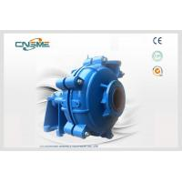 Best Large Particle Hydraulic Slurry Pump A05 Metal Centrifugal For Tailings wholesale