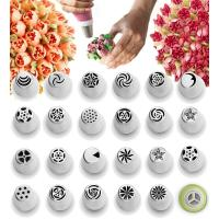 Best Cake Decorating Tips Set Polished Smooth No Seams - Icing Tips Frosting Tips Pastry Tips wholesale