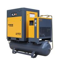 Best Combined Rotary Screw Air Compressor with tank, dryer and filter 22kw 30hp 8bar 2.3m3/min wholesale
