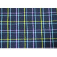 Best Plain Style Yarn Dyed Fabric Multi Clolor Grid Pattern For Garment wholesale