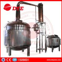 Best Moon Copper Commercial Distilling Equipment Alcohol Distilling System wholesale