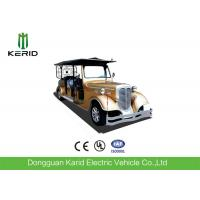 Best Custom 11 Seater Antique Electric Cars Sightseeing Vehicle For Airport Reception wholesale