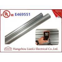 "Cheap Exterior 1"" Hot Dip Galvanized Metal Electrical Conduit with UL Listed for sale"