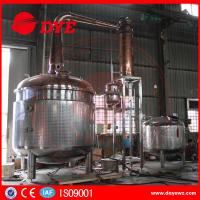 Best 2350 Gallon Steam Hearting Copper Pot Still With A Gin Basket wholesale
