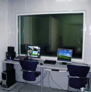 China 0 ~ 2 G Ω Fire Extinguisher Testing Equipment Monitor Teaching Demonstration Laboratory on sale