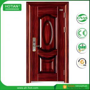 Best Cheap main metal glass steel structure building material steel door main gate designs wholesale