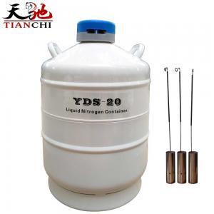 Best TIANCHI Liquid Nitrogen Container YDS-20-50 Stainless Steel Storage tank Price wholesale
