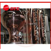 Best Turn-key Red Copper Alcohol Distilling Machine for Wisky,Vodka,Moonshin wholesale